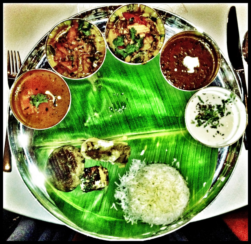 curry night - thali