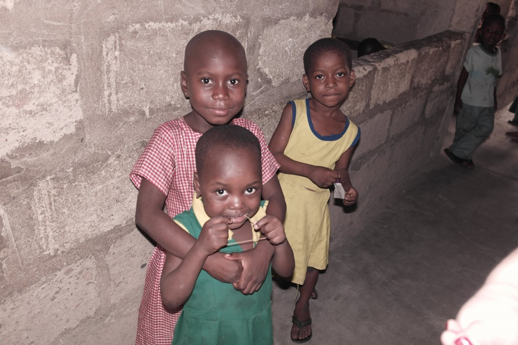 school children in africa