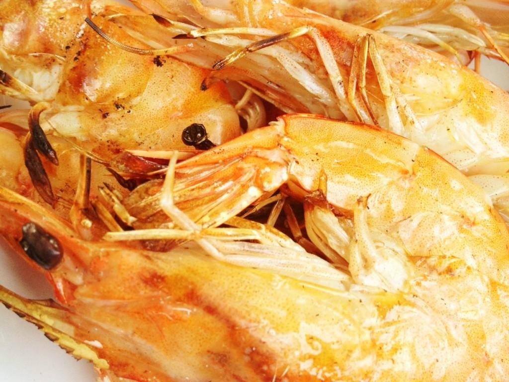 prawns crop