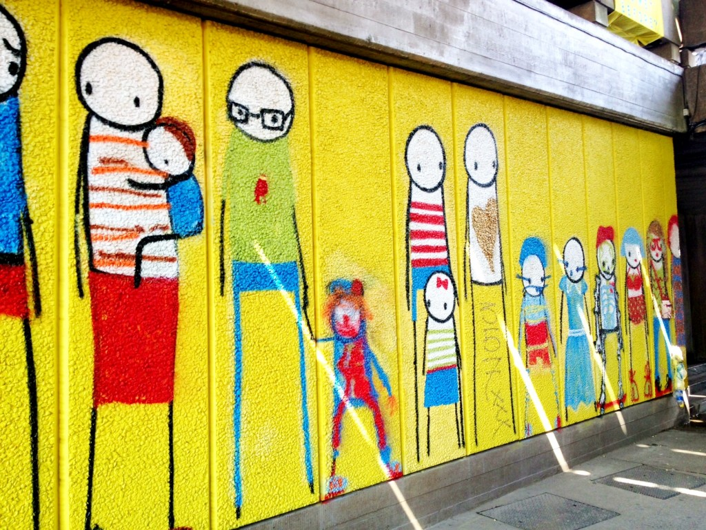 stik dress up graffiti