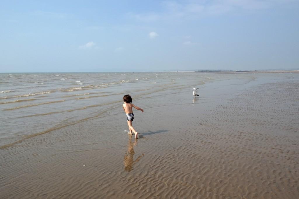 camber into the sea