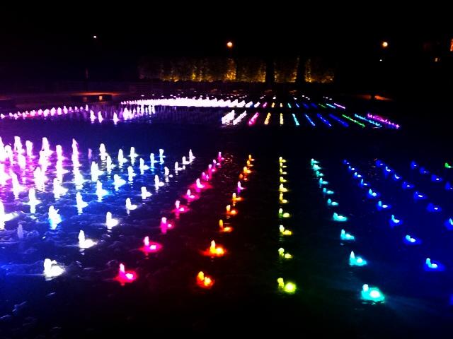 lights granary square