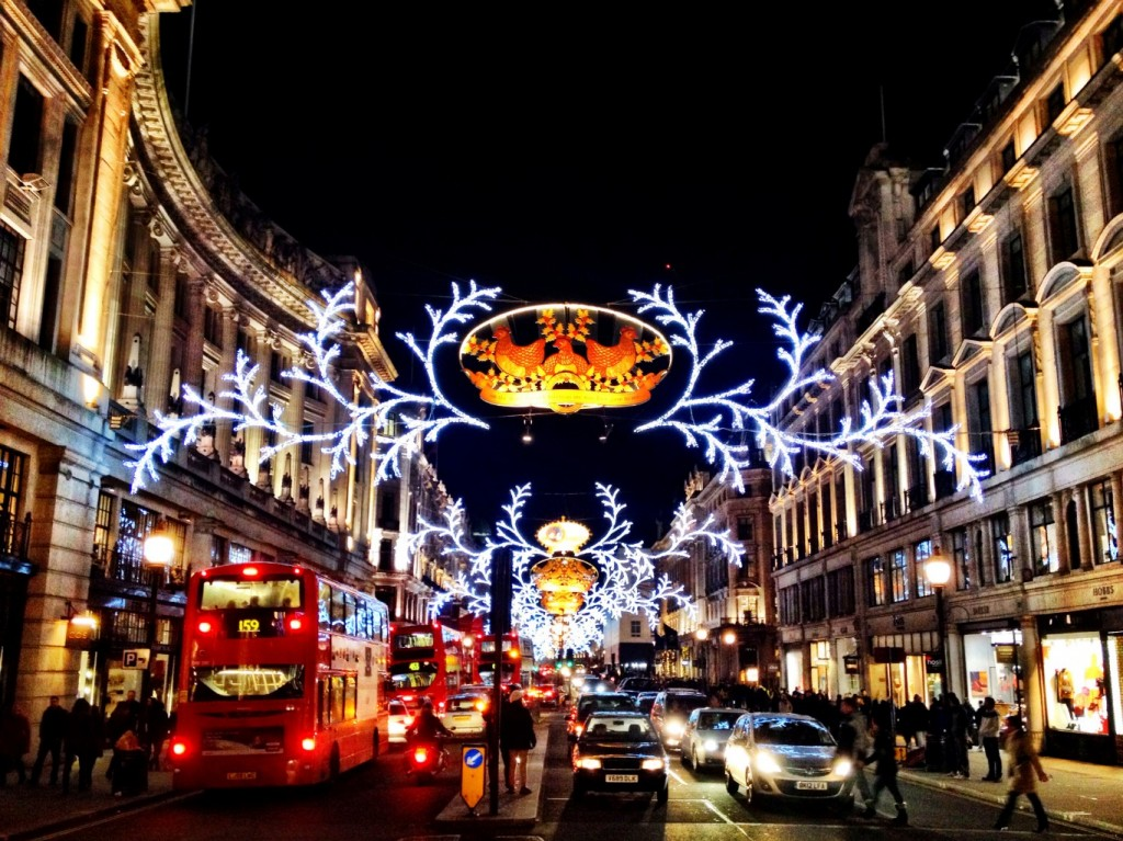 regent street mr peabody & sherman lights