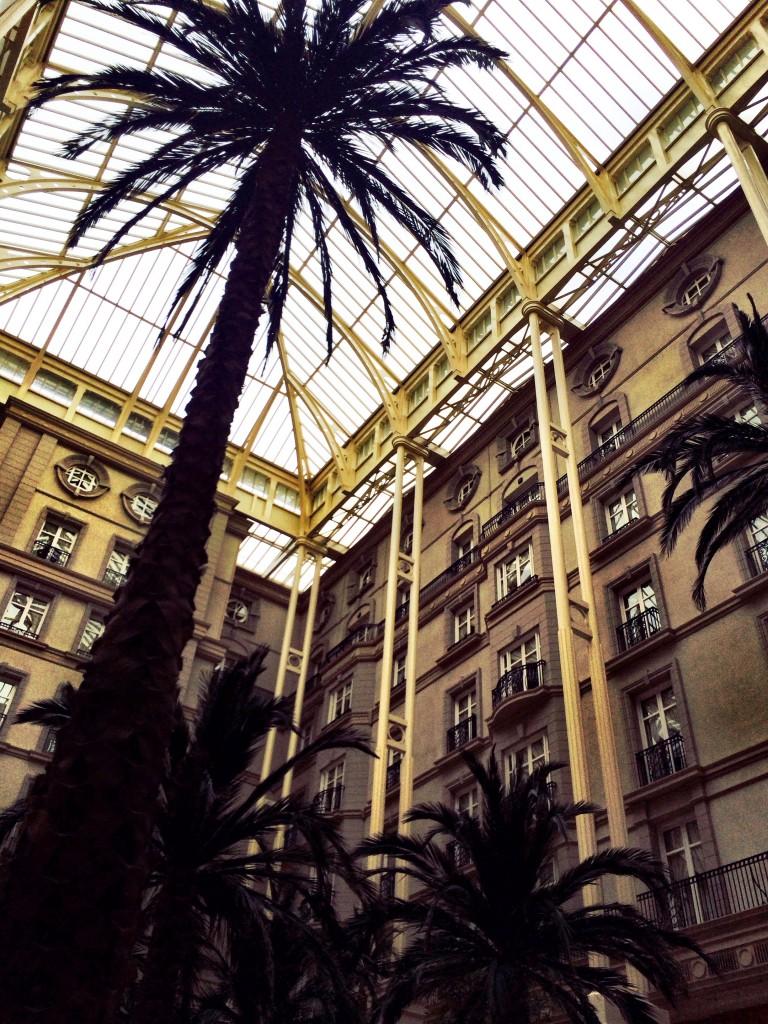 the landmark hotel