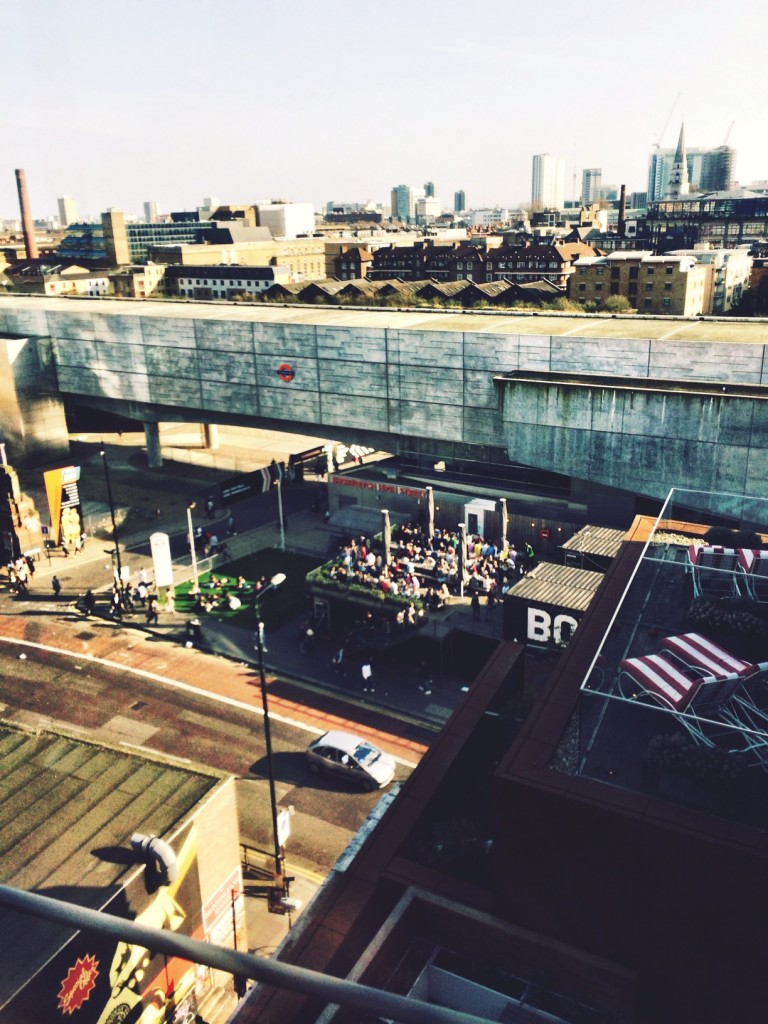 shoreditch from above