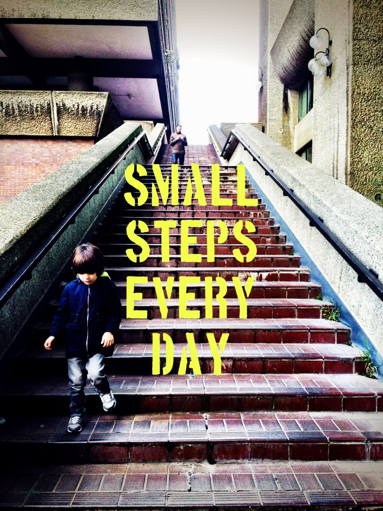 small steps everyday