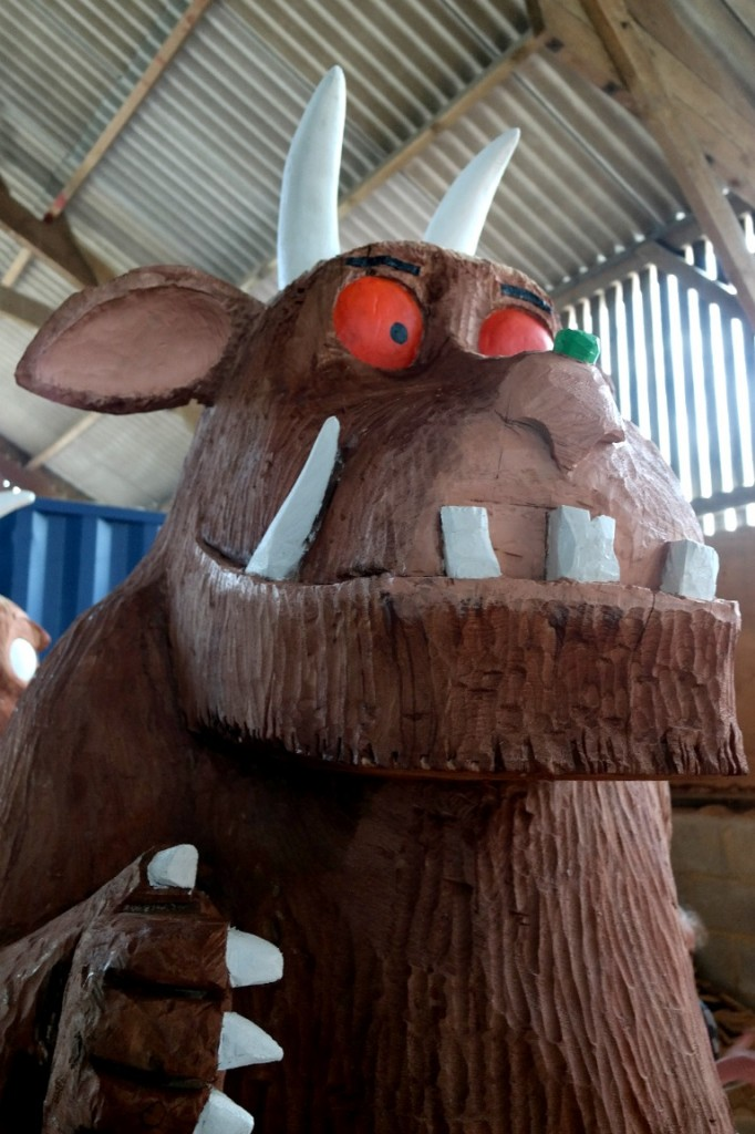 finished gruffalo