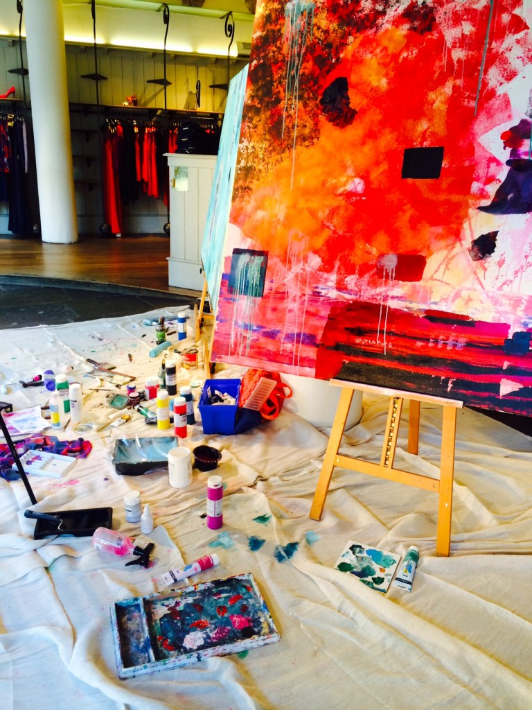 art takeover