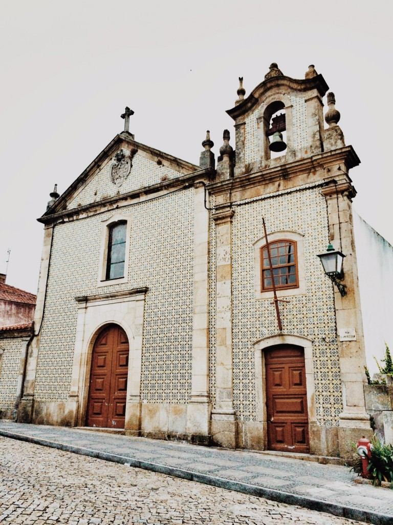 portuguese tiled church