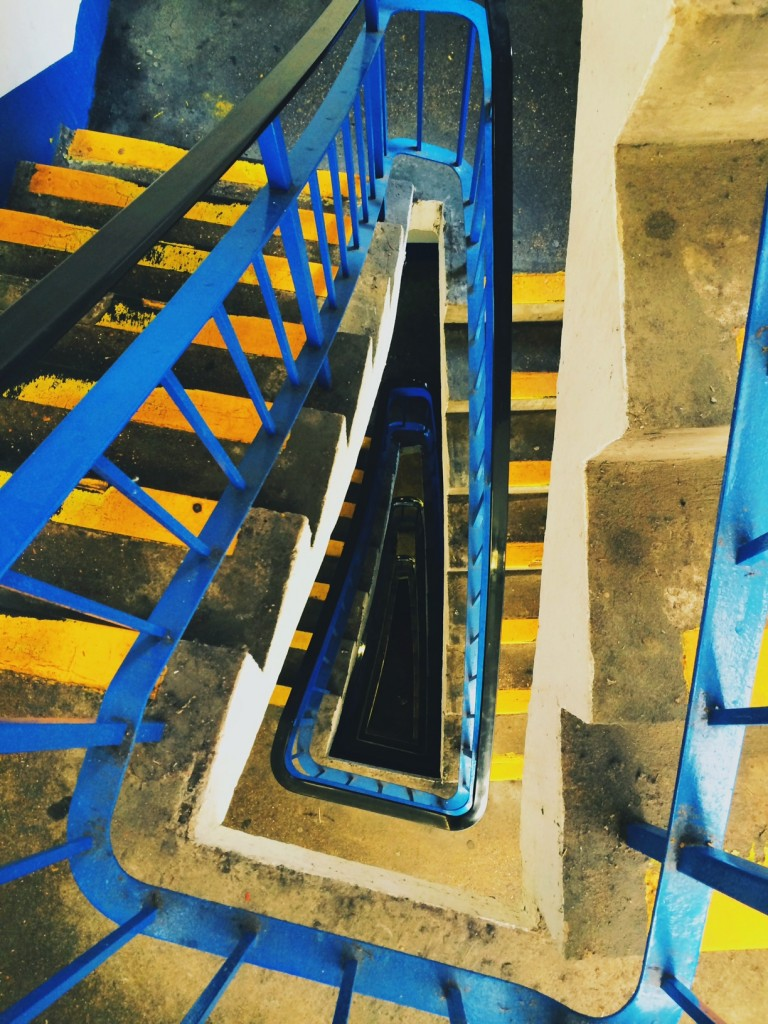 car park stairwell