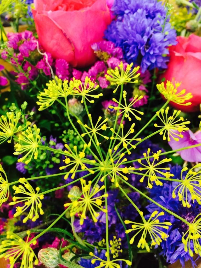 fluro flowers
