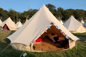 blue bell tent