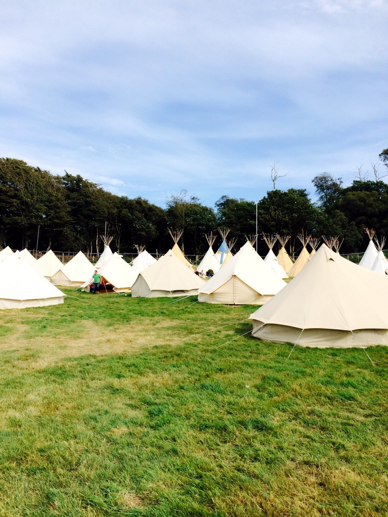 boutique camping camp bestival