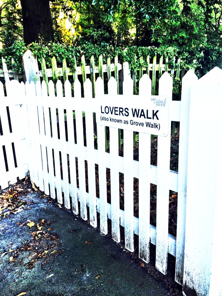 lovers walk