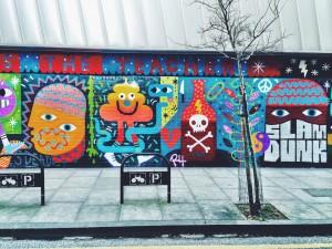 redchurch street graffiti