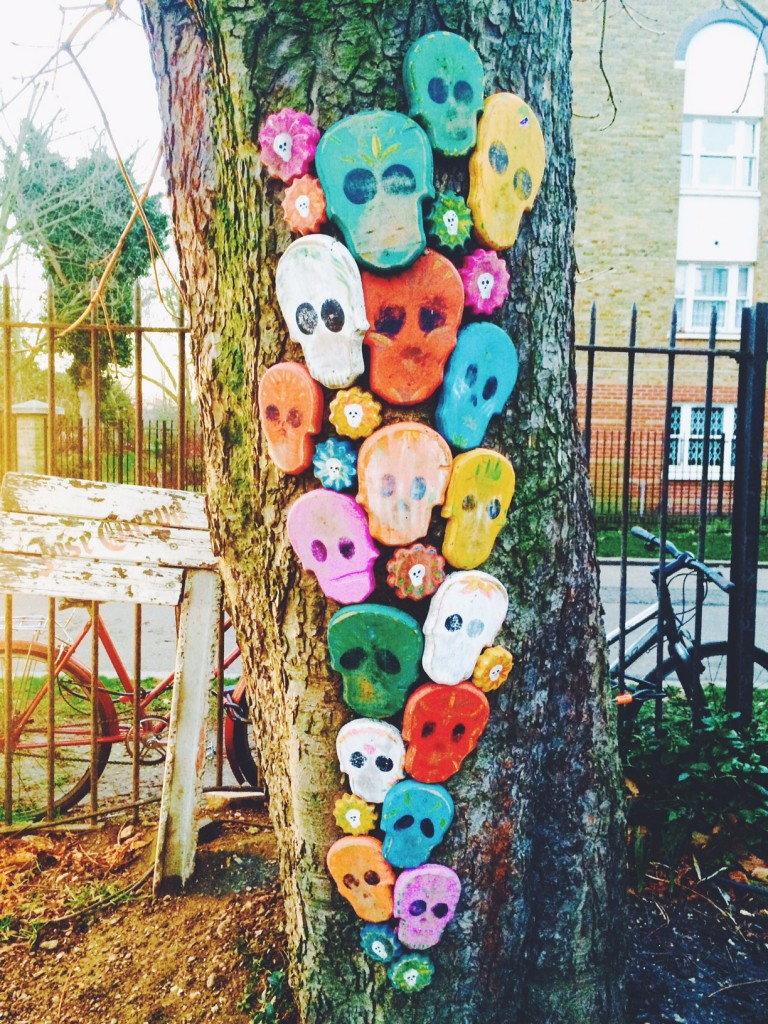 tree full of skulls