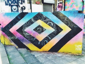 new inn yard graffiti