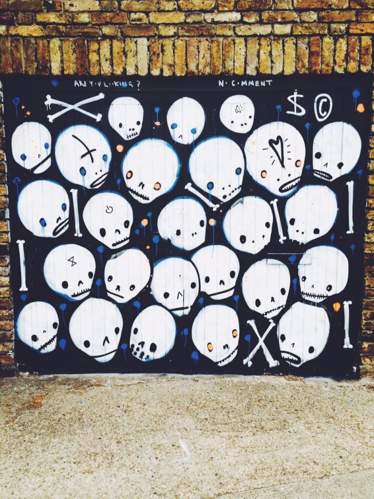 bones graffiti