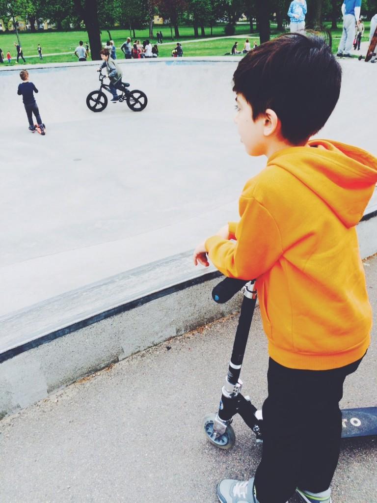 skater boy in waiting