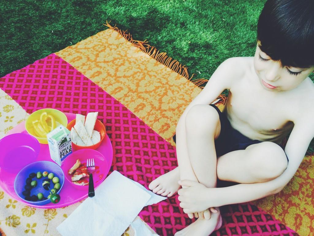 school night picnic
