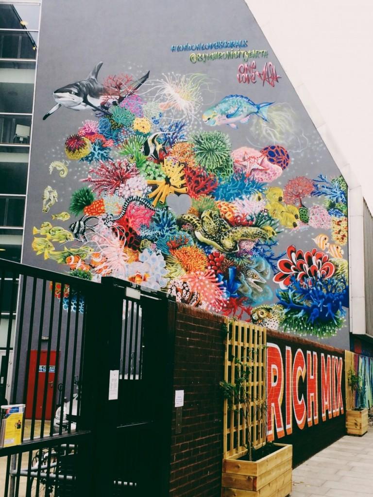 redchurch street streetart