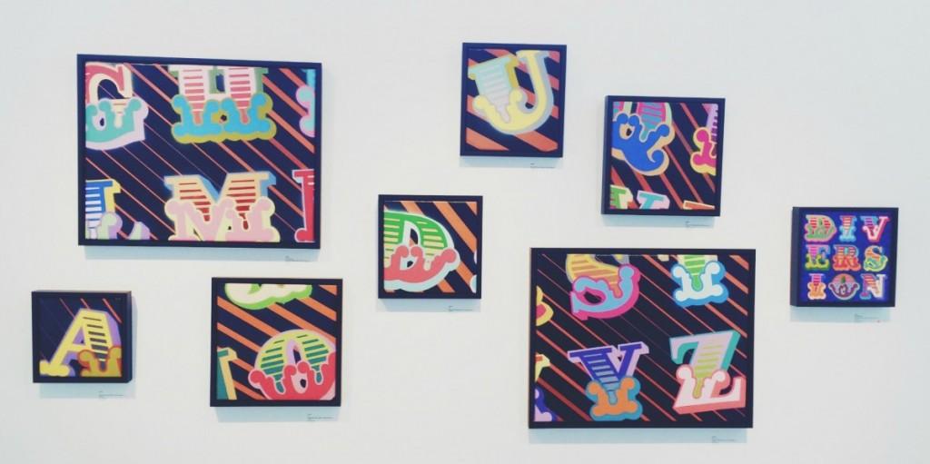 letters - ben eine - stolen space