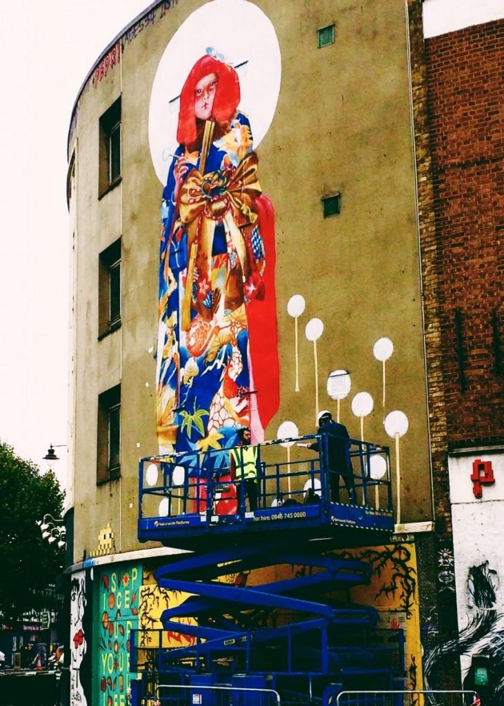 great eastern street street art