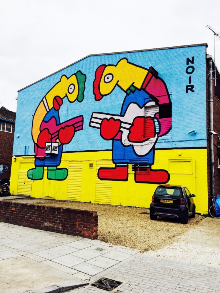hackney wick - street art