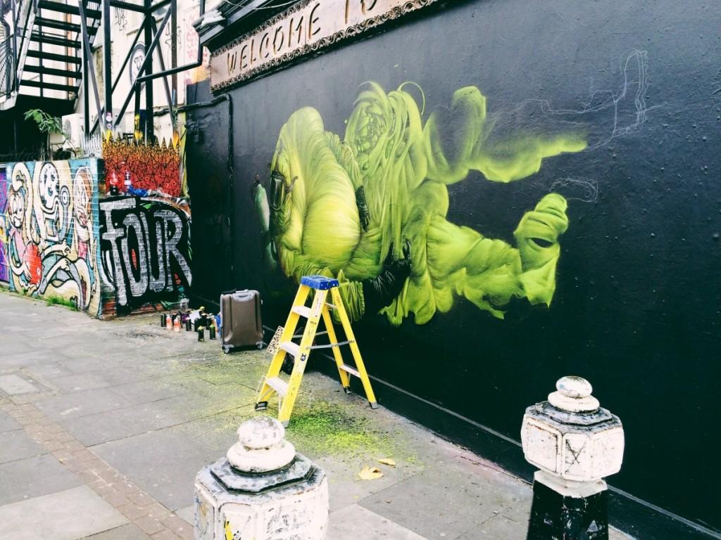 pedler street street art