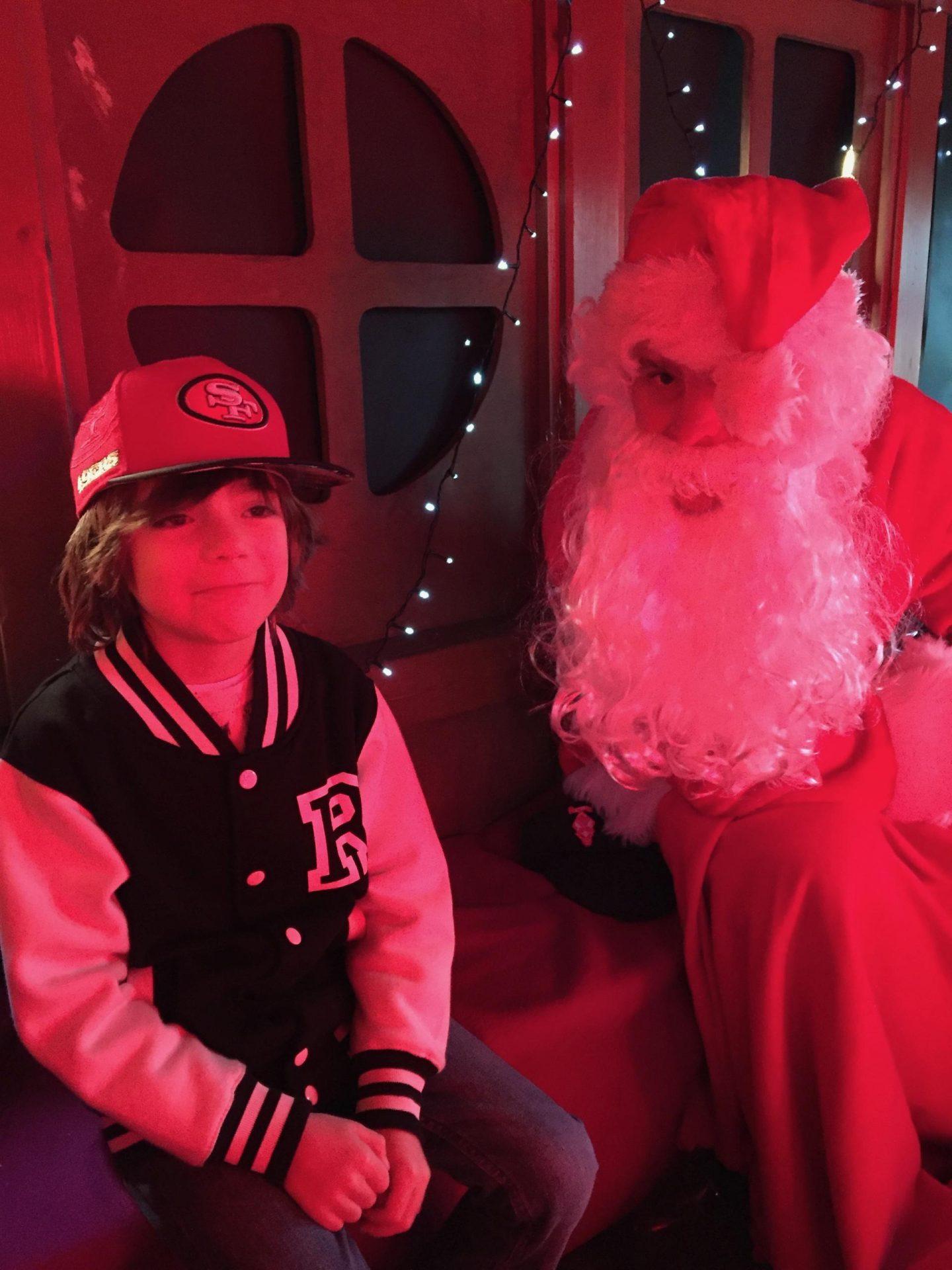 1st santa of the season