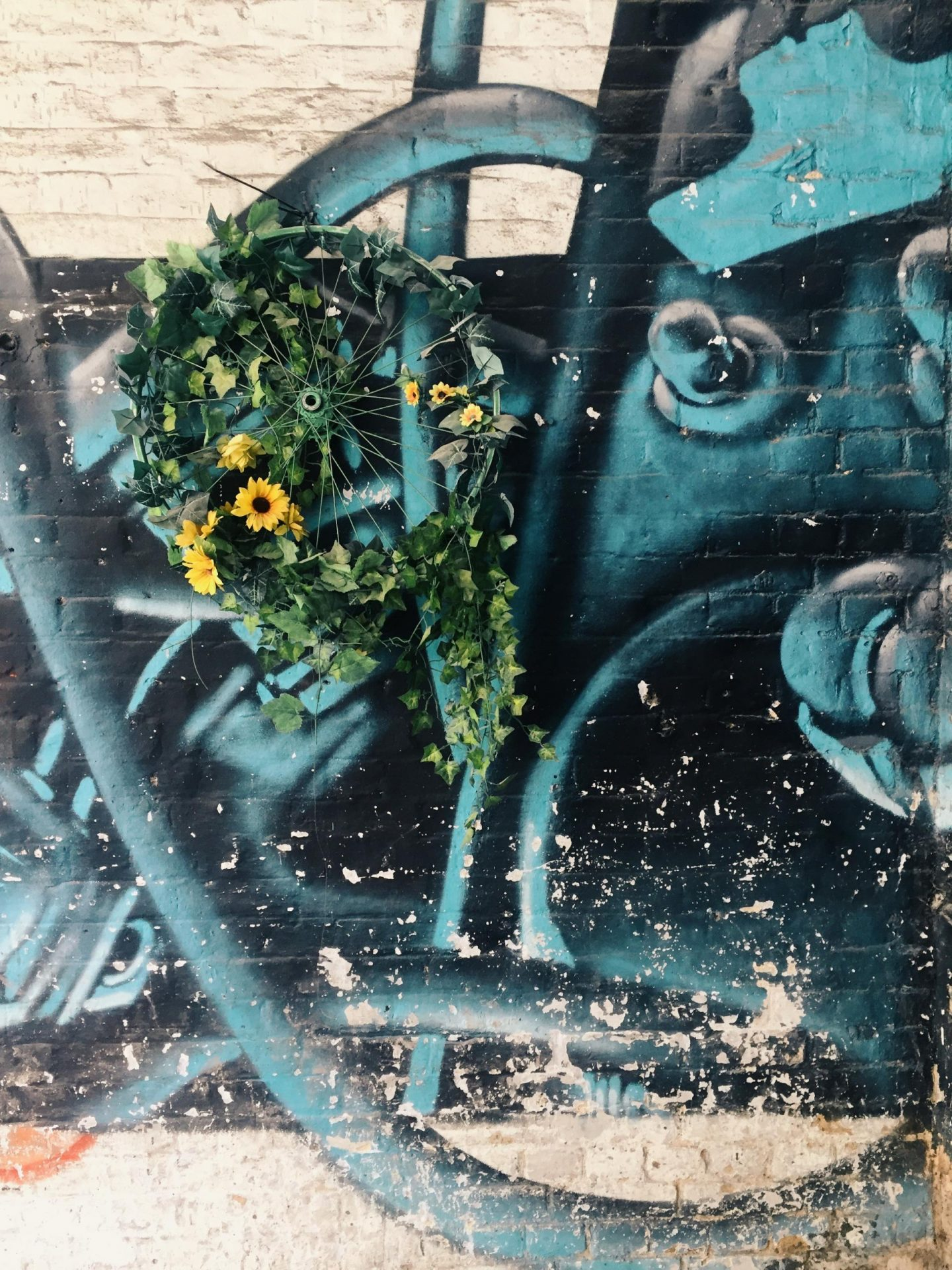 flowers and graff
