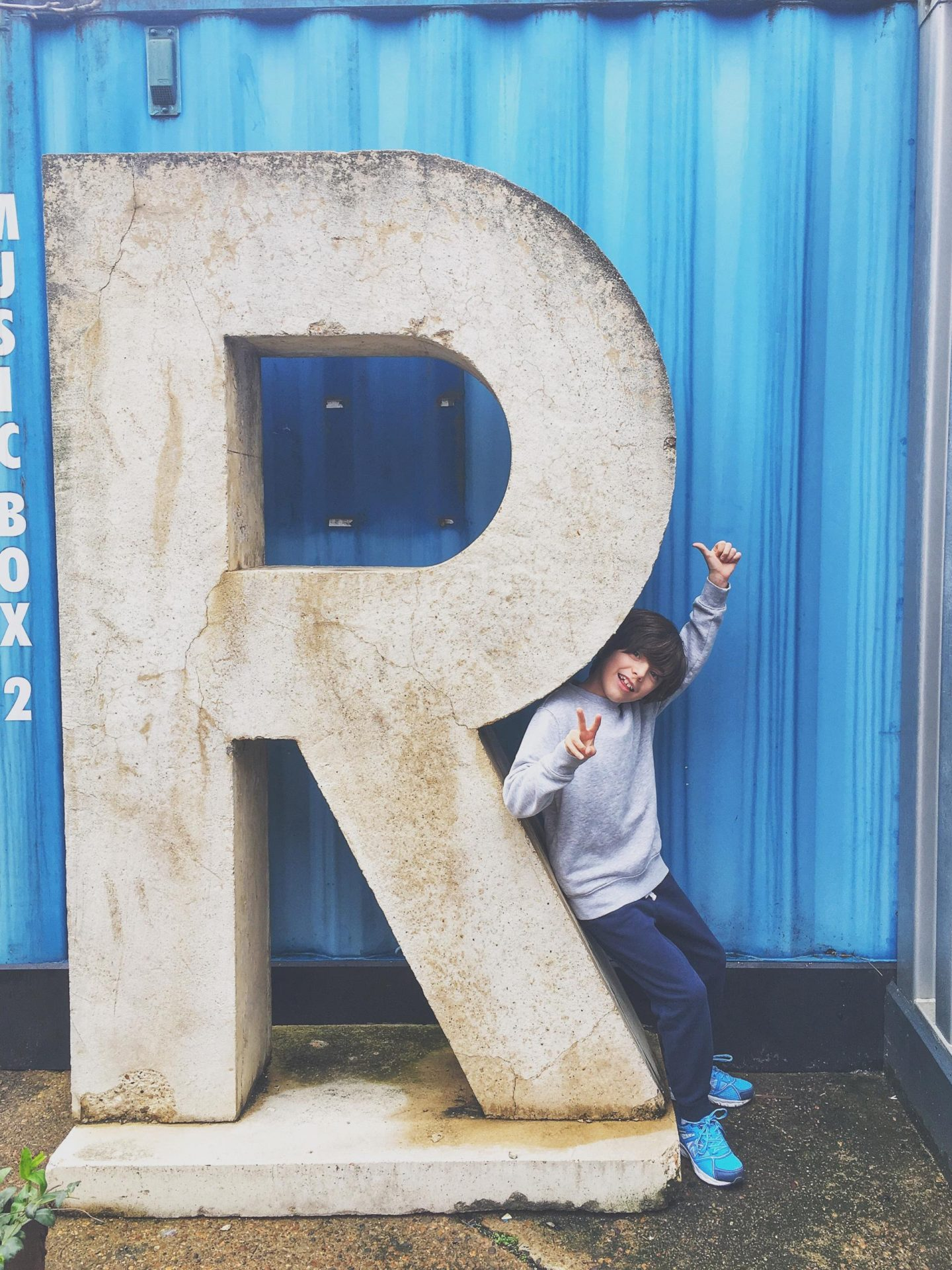 R is for Ronnie
